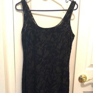 LAUNDRY Velvet evening gown